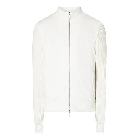 Knit Zip-Up Sweatshirt, ${color}
