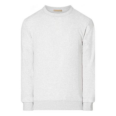 Crew Neck Jersey Sweater, ${color}