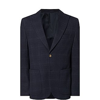 Cotton Wool Check Jacket
