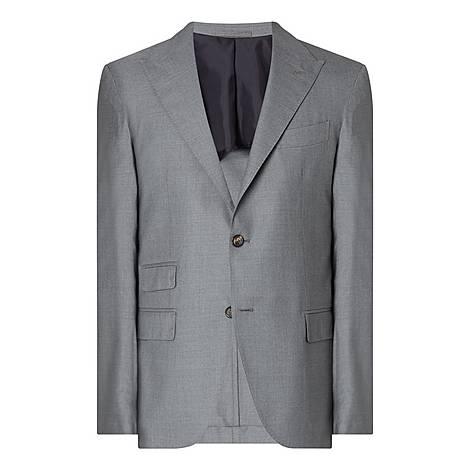 Wool Blazer Jacket, ${color}