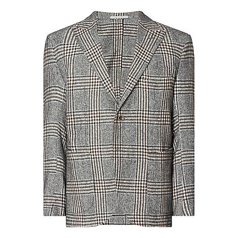 Multi Checked Jacket, ${color}