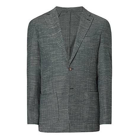 Woven Wool Blazer, ${color}