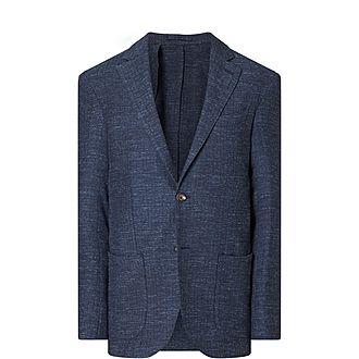 Woven Wool Blazer