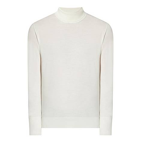 Roll Neck Cashmere Sweater, ${color}