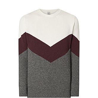 Cashmere Colour Block Sweater