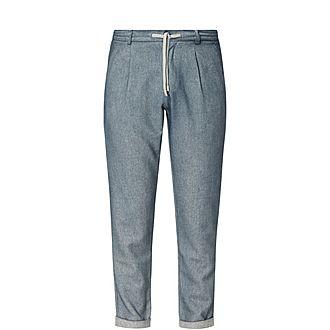 Tailored Wool Sweat Pants