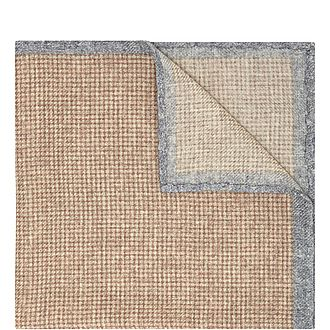Checked Wool Pocket Square
