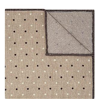 Multi Dot Pocket Square