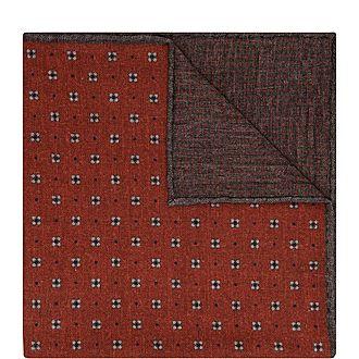 Botanical Print Pocket Square