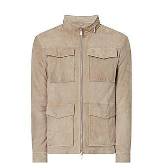 Casual Suede Jacket