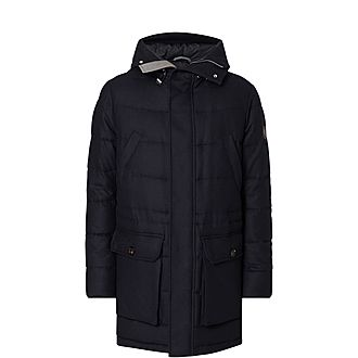 Wool Puffer Jacket