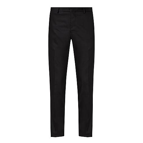 Wool Stretch Trousers, ${color}