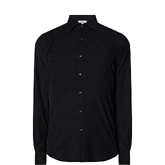 Fine Cord Check Shirt