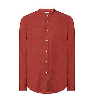 Grandad Linen Shirt