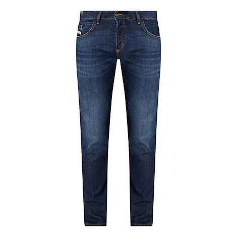 Taper Straight Fit Jeans, ${color}