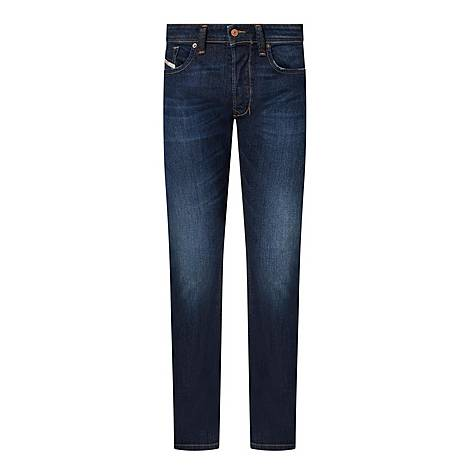 Larkee Dark Straight Jeans, ${color}