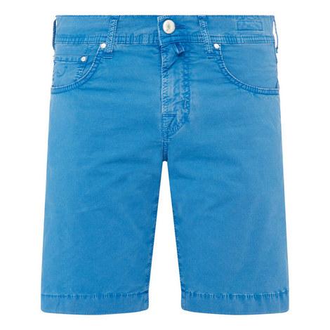 Wash Cotton Shorts, ${color}
