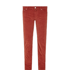 620 Cord Straight Trousers