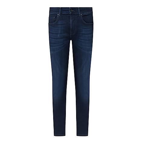 Luxe Performance Slimmy Tapered Jeans, ${color}