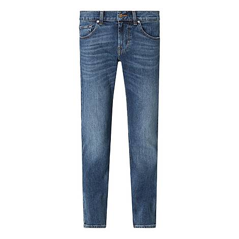 Slimmy Tapered Jeans, ${color}