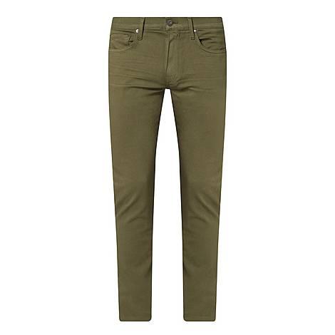 Lennox Olive Night Slim Fit Jeans, ${color}