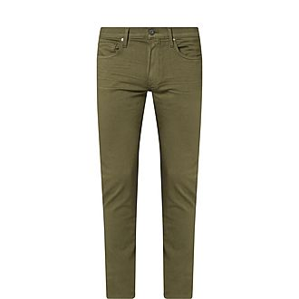 Lennox Olive Night Slim Fit Jeans