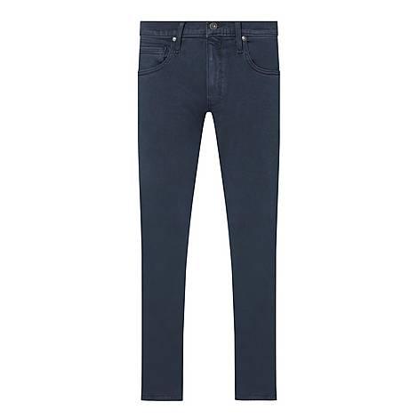 Lennox Vintage Naval Blue Slim Fit Jeans, ${color}