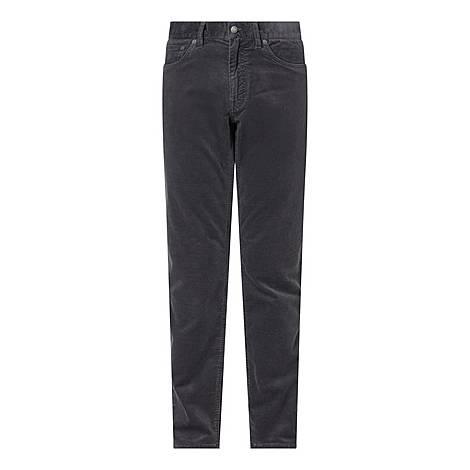 Regular Cord Jeans, ${color}