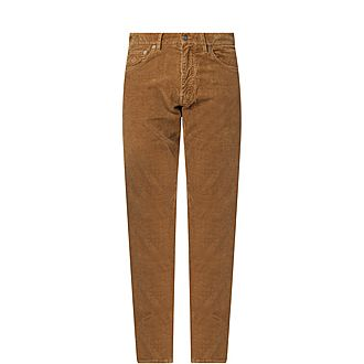 Cord Staight Leg Trousers