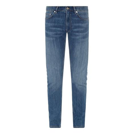Tech Prep Tapered Slim Jeans, ${color}
