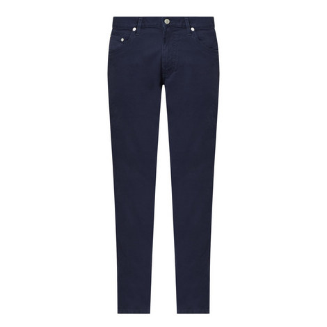 Dusty Slim Casual Trousers, ${color}