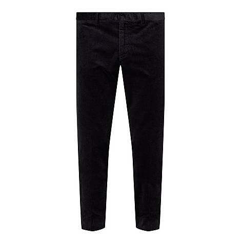 Slim Fit Corduroy Trousers, ${color}