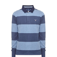 Striped Rugby Sweatshirt