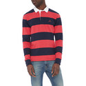 Striped Rugby Sweatshirt, ${color}