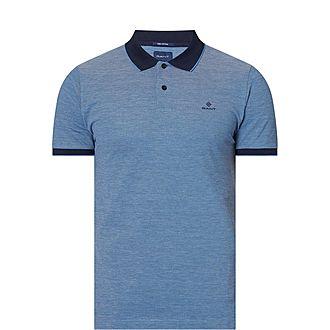 Four-Colour Piqué Polo Shirt