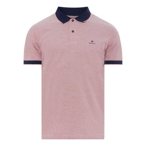 Four-Colour Piqué Polo Shirt, ${color}