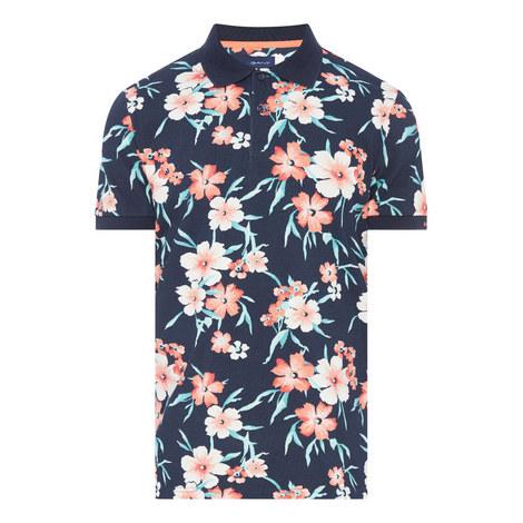 Floral Polo Shirt, ${color}