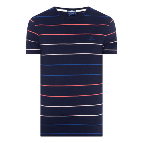 Multi-Stripe T-Shirt, ${color}