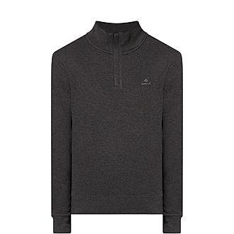 Sacker Rib Half Zip Sweater