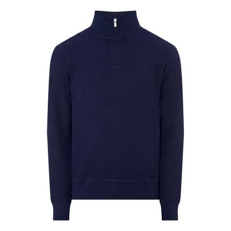 Honeycomb Half-Zip Sweatshirt, ${color}