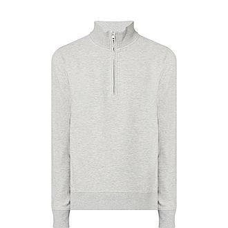 Half-Zip Structure Sweater