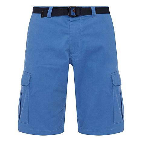 Relaxed Fit Utility Shorts, ${color}