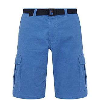 Relaxed Fit Utility Shorts