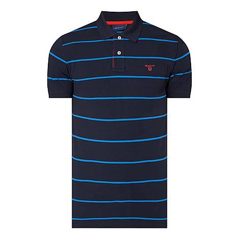 Contrast Regular Polo Shirt, ${color}