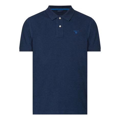 Contrast Logo Polo Shirt, ${color}