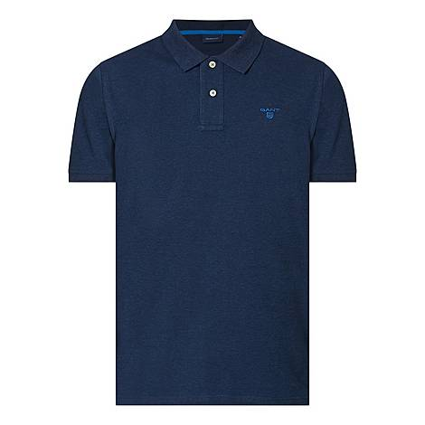 Contrast Logo Polo Shirt, ${color}
