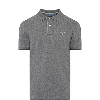 Contrast Collar Polo T-Shirt