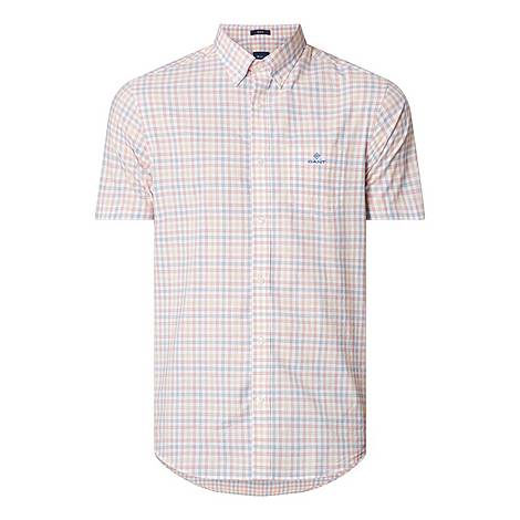 Poplin Check Shirt, ${color}
