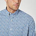 Micro Floral Regular Shirt, ${color}