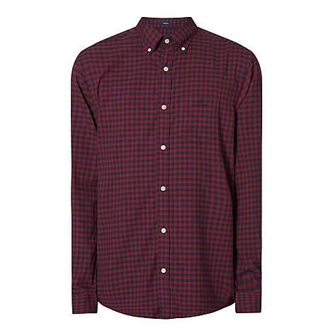 Buffalo Check Print Shirt, ${color}